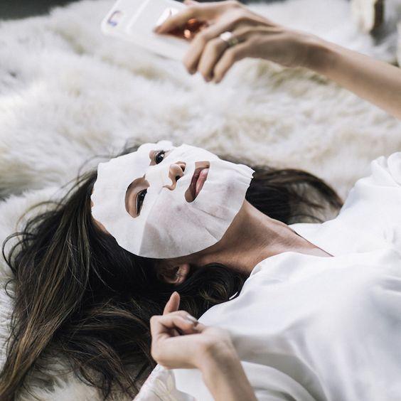 Qué son las sheet masks / Blocdemoda.com - Cultura Moda #SheetMask #KoreanBeauty