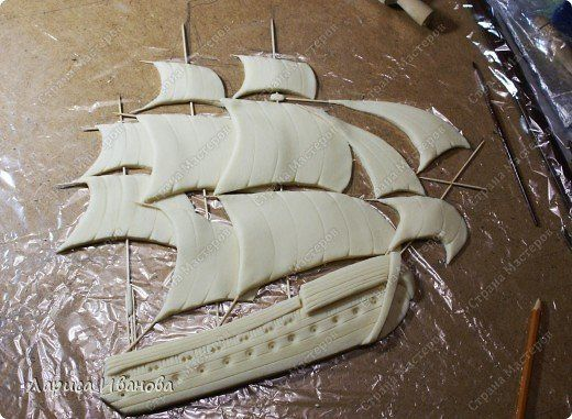 """MK aplicirano """"brod na moru""""-Brod na moru naljepka udžbenik - majstorske tečajeve nema Kolač Kolač uređenja uređenja Udžbenici (Kako je) Torta ..."""