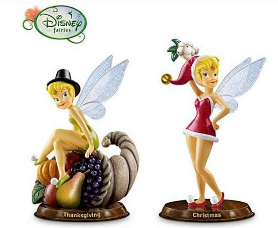 tinkerbell christmas figurines - photo #15