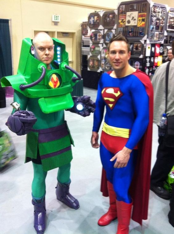 Super Man and Lex Luther: