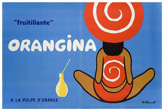 1970 Orangina Ad