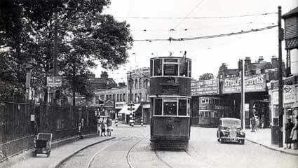 Norwood Road, Herne Hill 1950