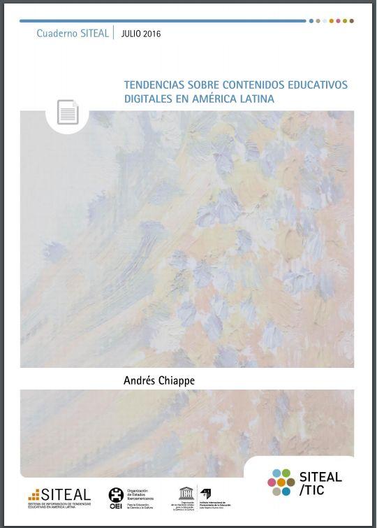 Descargue: Tendencias sobre contenidos educativos digitales en América Latina - RedDOLAC - Red de Docentes de América Latina y del Caribe -