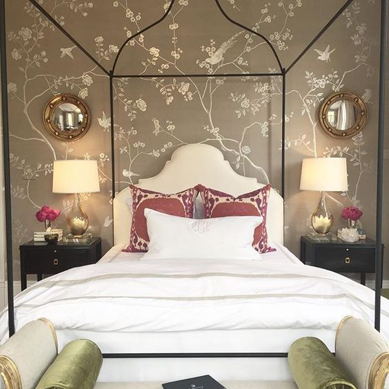 Where brian patrick flynn 39 s space felt very masculine to for Very headboards