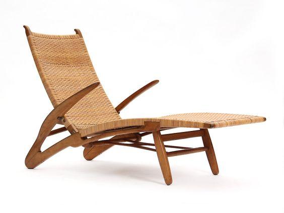 1950's Dolphin Chaise | Designer: Hans Wegner
