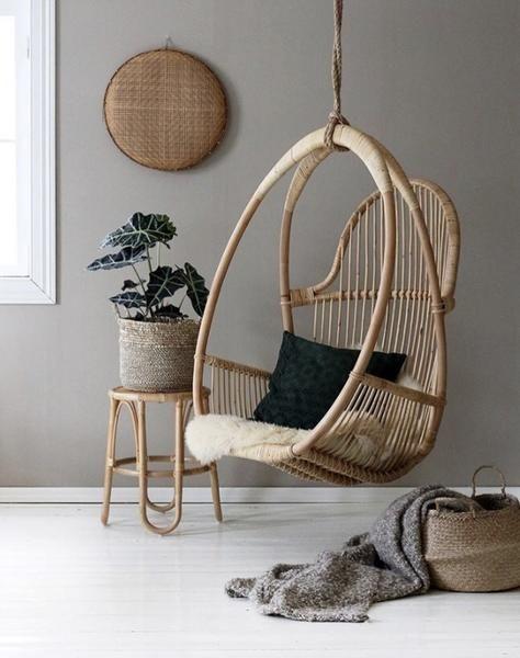 Swing Egg Chair Room Swing Hanging Furniture Swinging Chair