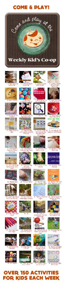{Weekend Activities} A fun collection of family friendly fun... What are you looking most forward to this weekend?