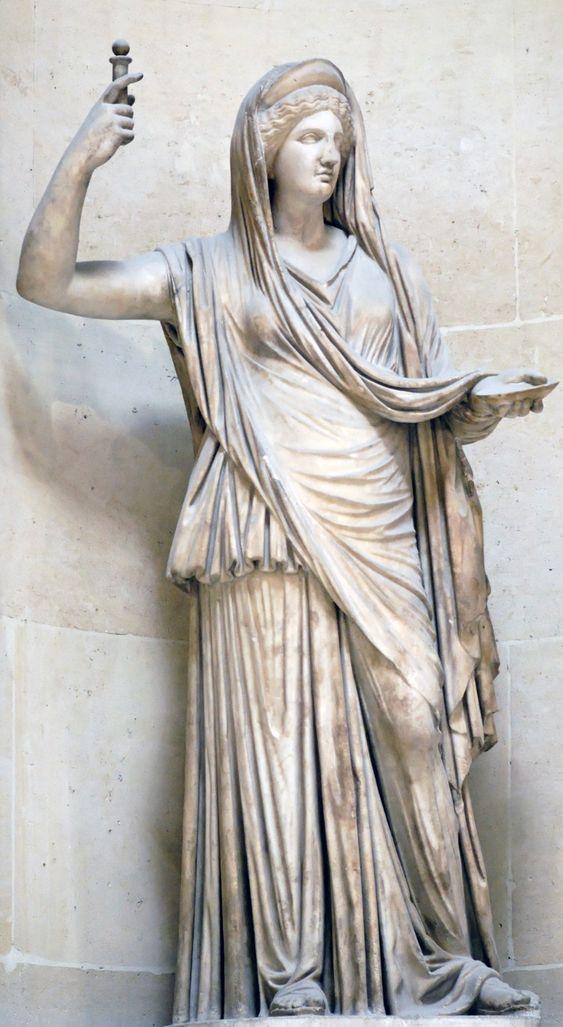 La Hera Campana. Copia romana en mármol del original griego, siglo II (?).
