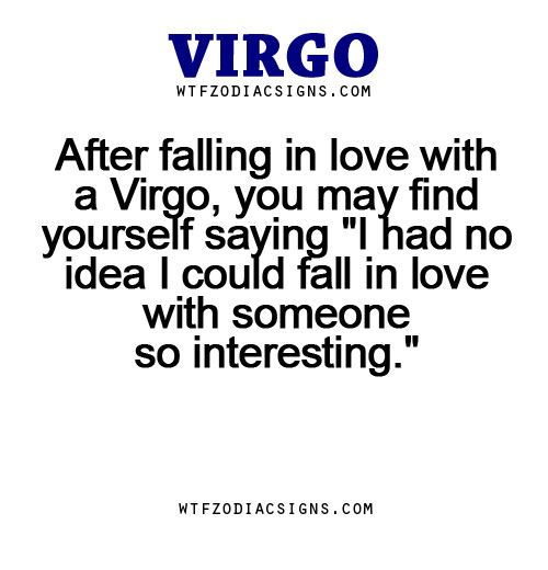 signs virgo falling loves