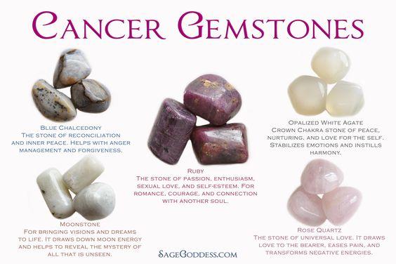 Cancer Gemstones More: