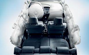 Six standard airbags