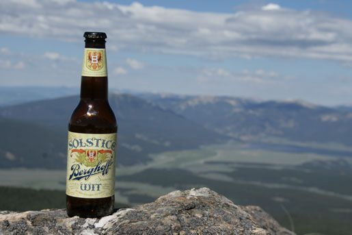 Summer Beer: Solstice Wit from Berghoff Brewery