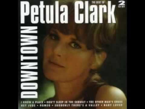 ▶ Petula Clark - Downtown (new recording?) - YouTube