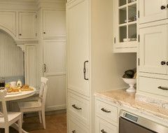 Sage Green Inset Door Kitchen traditional-kitchen