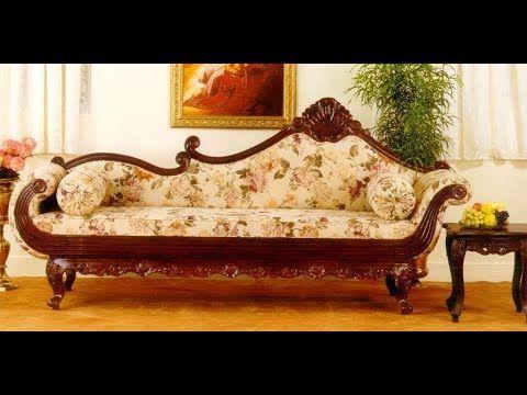 Latest Maharaja Sofa Collections 2018 Wooden Diwan Sofa Models