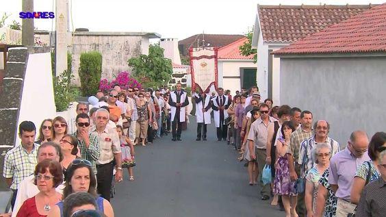 Procissão do Senhor Bom Jesus dos Milagres 2013-Ilha do Pico- Açores