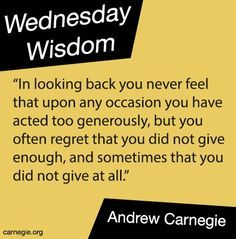 Inspirational Wednesday