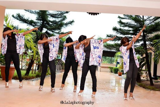 We came to have some #fun #slayed #bridesmaid #adorable #dab  The True Love Story Of Eduabasi & Kido #nigeriawedding#naijaweddings#photographylovers#lovephotography#weddingphoto#pokemongo#barbie #barbiewedding#brides#grooms #bridemakeup#love #dabs  #weddingphotographer#weddinghub#bridesmaids#brideparty#likeforlike#monents#engagement  Credit: Planner @wittylizevents Makeup @flawlessfacesbyjane Wedding dress @toshwoods Décor @wittylizevents Photo @klalaphotography