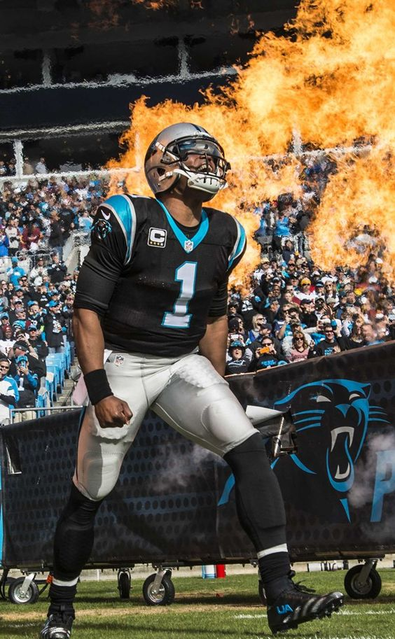 Pro Bowl 2015 soon to be MVP! Cam Newton