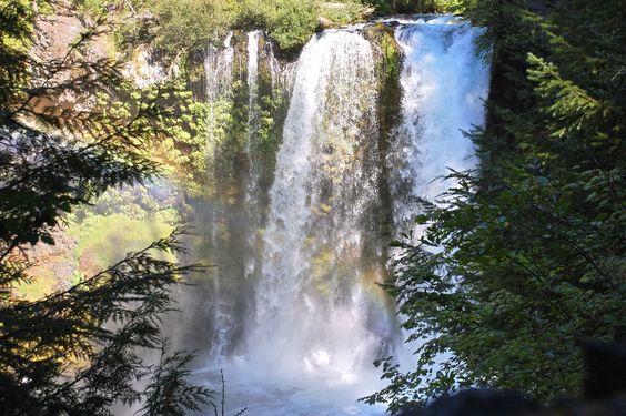 Koosah falls, Oregon cascades