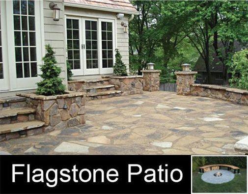 Improve Your Yard With These Classy Concrete Patio Ideas Patio Backyardideas Patio Stones Stone Patio Designs Flagstone Patio