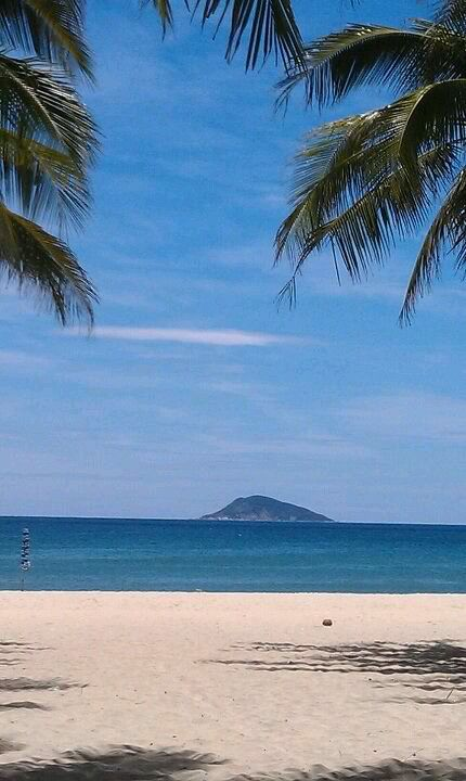Anywhere beaches.( this is HỘI AN BEACH FROM VIỆT NAM)