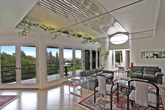 İç tasarım, Stil, ev, villa, yaşam alanı, balkon, Teras vektör