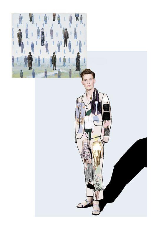 Ernesto Artillo fashion illustration - men