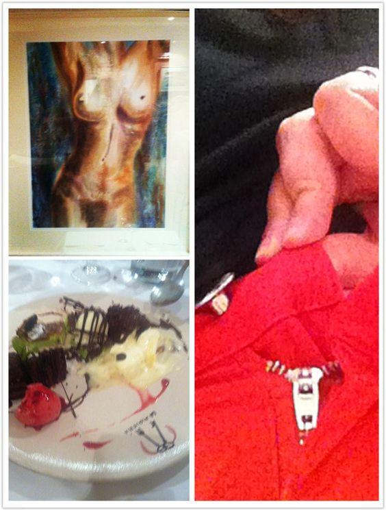 Gastro-erótica en L'Alqueria de #Rafales  #Matarranya #helado #postres #icecream #estrellamichelin #SienteTeruel