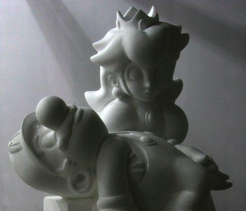 Mario & Peach pieta
