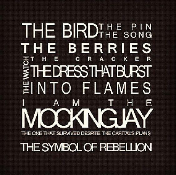 I am the Mockingjay.