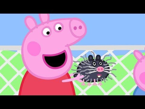 Peppa Pig English Episodes Visiting Mrs Badger S Farm With Peppa
