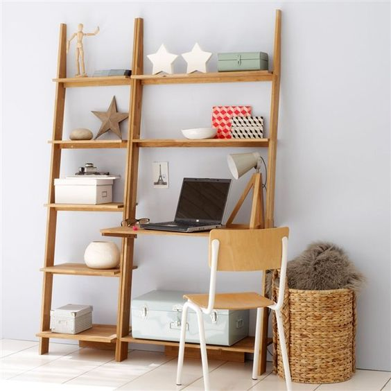 Tag re murale domeno la redoute rangements actucieux for Bureau etagere