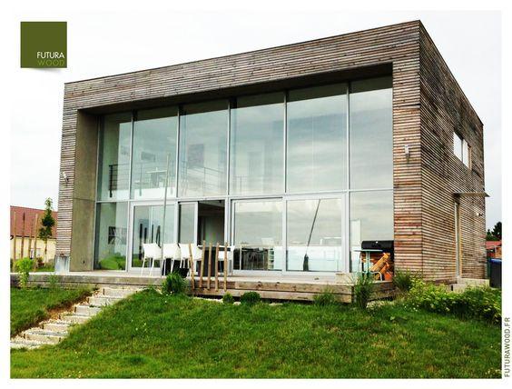Maison ossature bois à Dijon www.futurawood.fr | Maison ossature ...