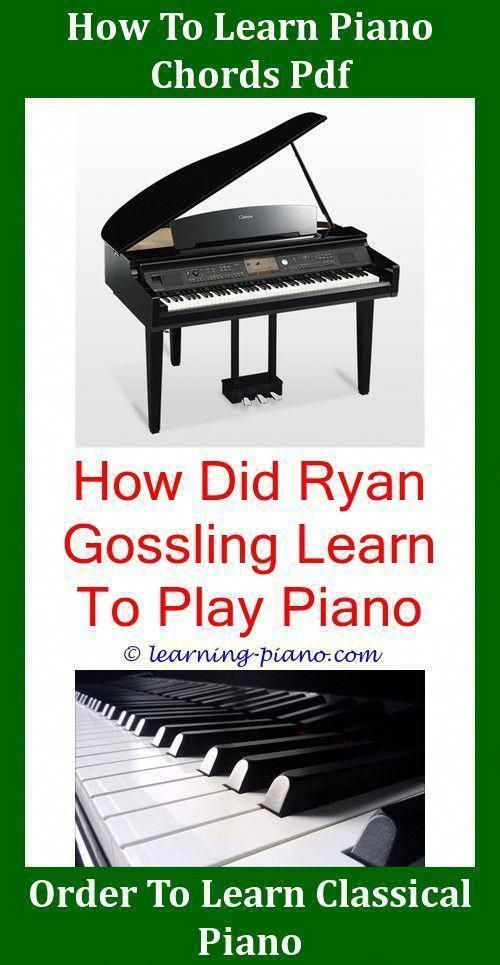How Long Does It Take To Learn Piano Chords Learn Piano Chords Learn Piano Piano