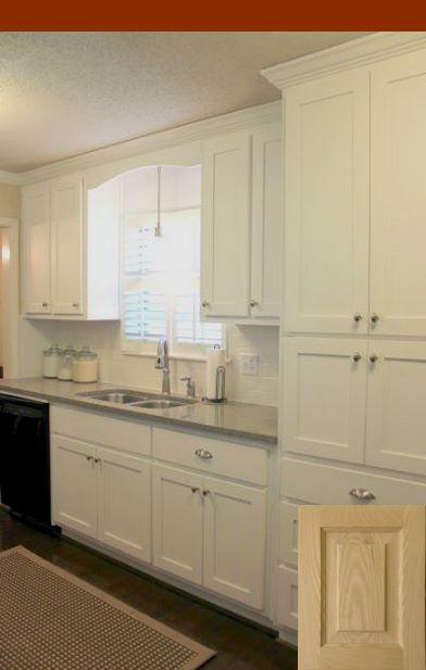 Kountry Wood Cabinets Jamestown Kitchen Remodel Small