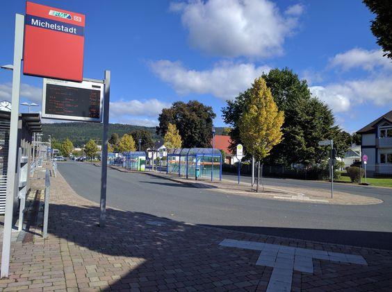 Bahnhof - Haltestellen am 05.10.2016.