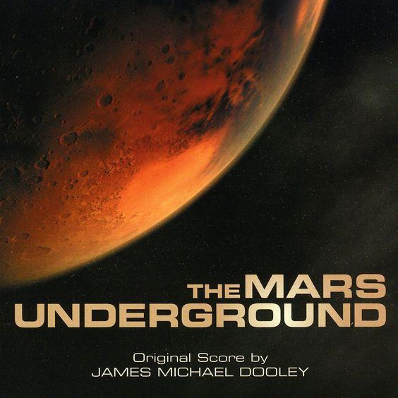 James Michael Dooley - Mars Underground, Blue