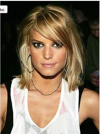 love her hair...but I'm not chopping it off this year, seriously!