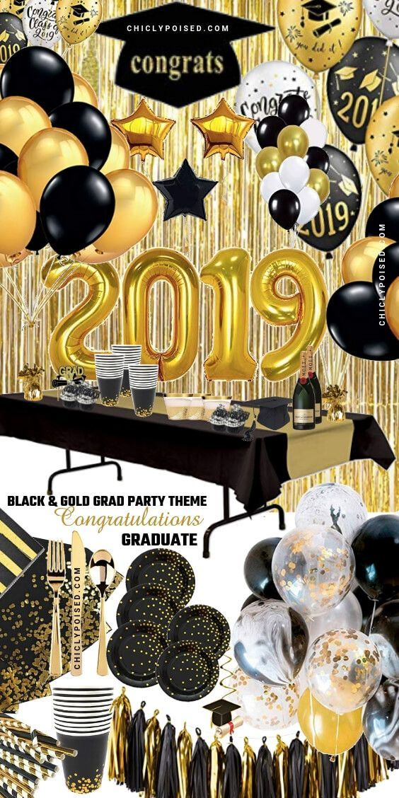 Select The Best Graduation Party Theme For Your 2019 Graduation