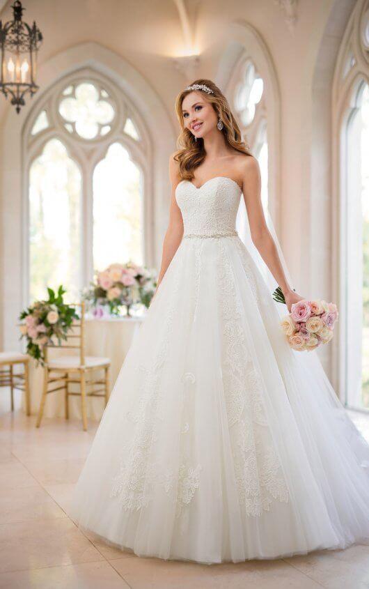 Princess Wedding Dresses Organza Princess Wedding Dress Stella York Princess Wedding Dresses Ball Gowns Wedding Ball Gown Wedding Dress