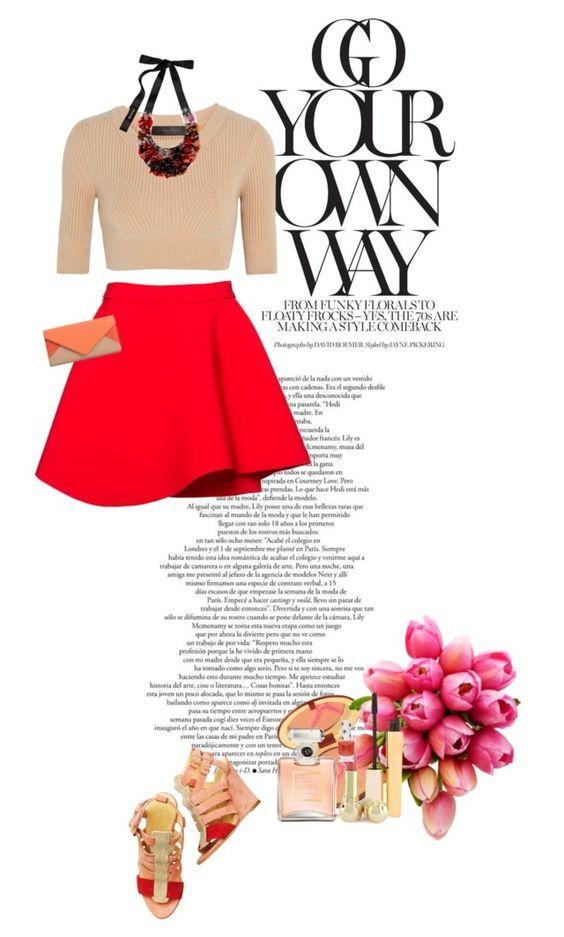 """On my way"" by miumiu ❤ liked on Polyvore featuring Balenciaga, Miu Miu, Chloé, Calvin Klein Collection, Estée Lauder, Chanel, Reception, Stila, Christian Dior and Topshop"