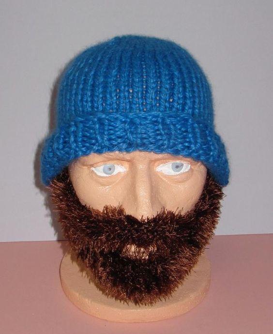 Free Beard And Moustache Knitting Pattern : Free beard? Obviously someone might be in the need of both a knitted one.. An...