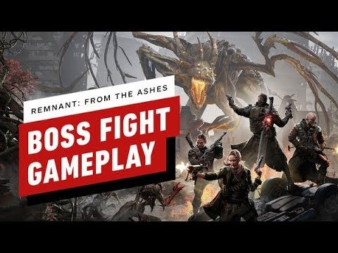 Remnant From The Ashes Boss Fight Gameplay 2 Player Co Op Gameplay Fight Ign Games