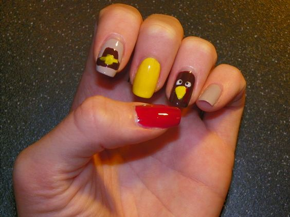 Thanksgiving nails | Nails on Time