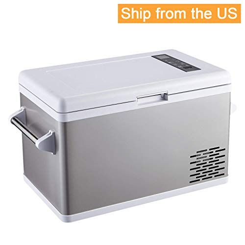 Aspenora 37 Quart Portable Fridge Freezer 12v Car Refrigerator Car Fridge With Compressor Tou In 2020 Portable Fridge Car Refrigerator Compressor