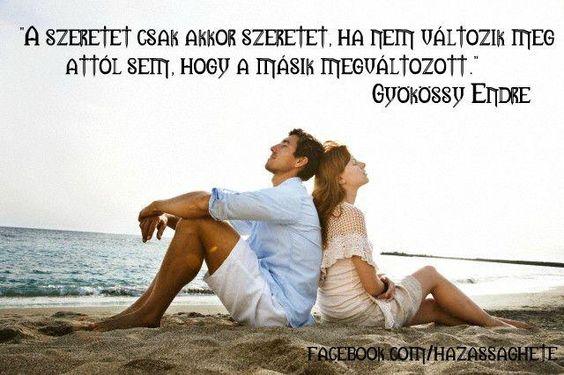 A szeretet csak akkor szeretet...