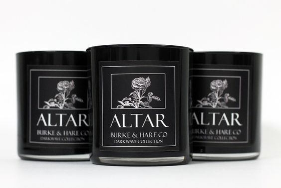 Darkwave Collection - Altar by BurkeHareCo on Etsy