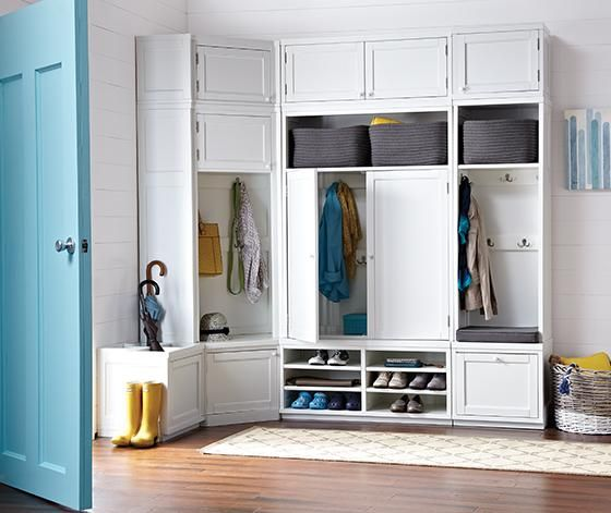 Martha Stewart Living Mudroom Wide Hutch Mudroom