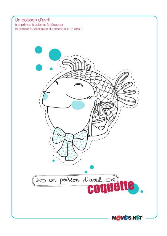 Les Mercredis de Momes : de drôles de poissons d'avril ! - Le blog de momes.net